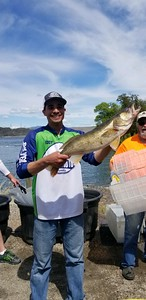 Kody caught this whopper on Banks Lake with BJ.
