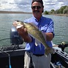 Dave caught walleye on Moses Lake with BJ.