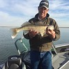Vance caught this walleye on Potholes with BJ's Guide Service.