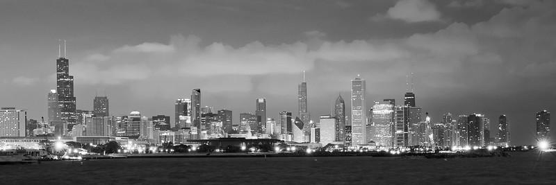 Chicago pre dawn