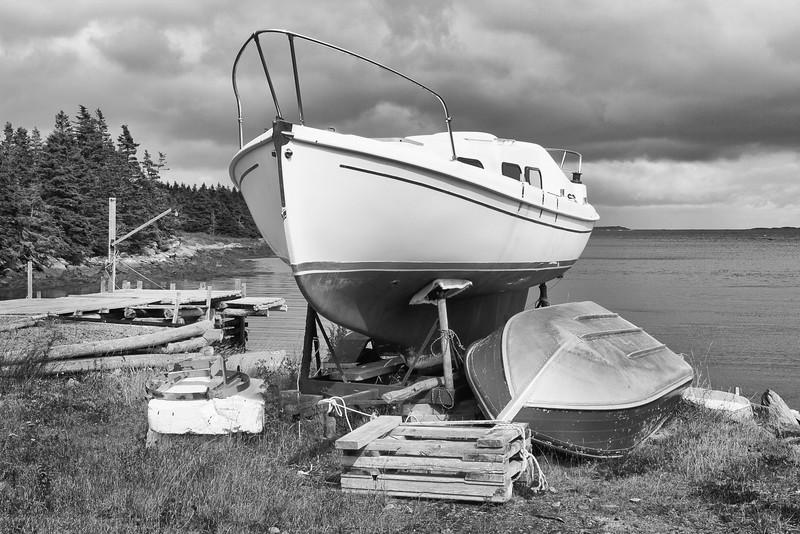 Sail Boat at Sober Island