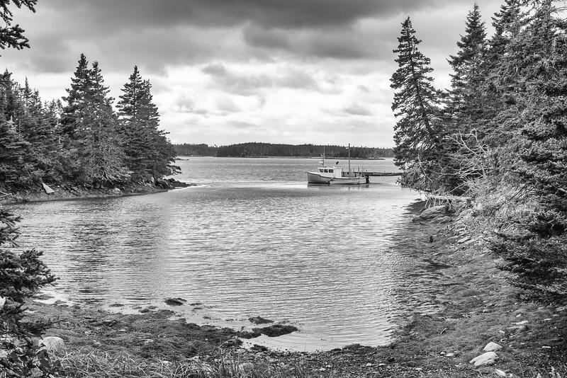 Fishing boat at Sober Island