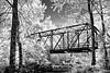 Old Potter Iron Bridge - Ouachitas of Arkansas