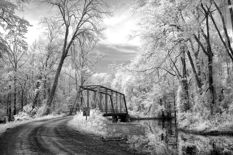 Dale Bend Bridge Yell County, Arkansas