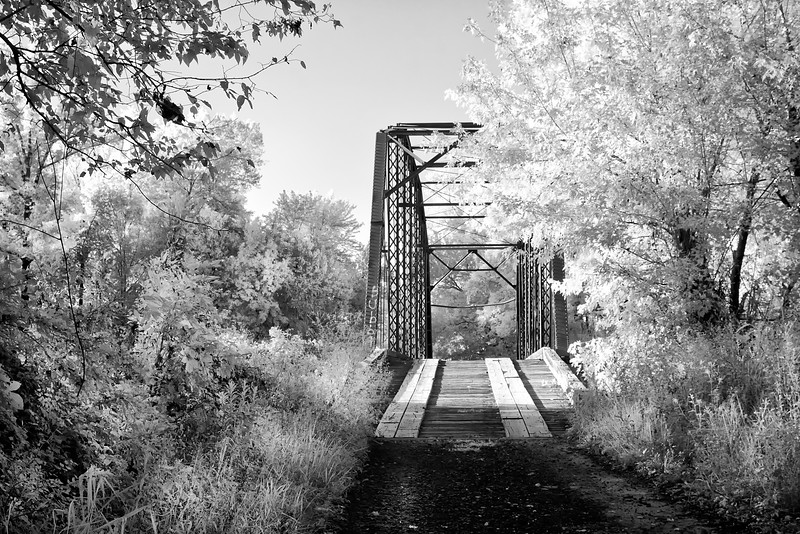 A Peaceful Journey Into the Light - Wards Crossing Bridge Yell County, Arkansas