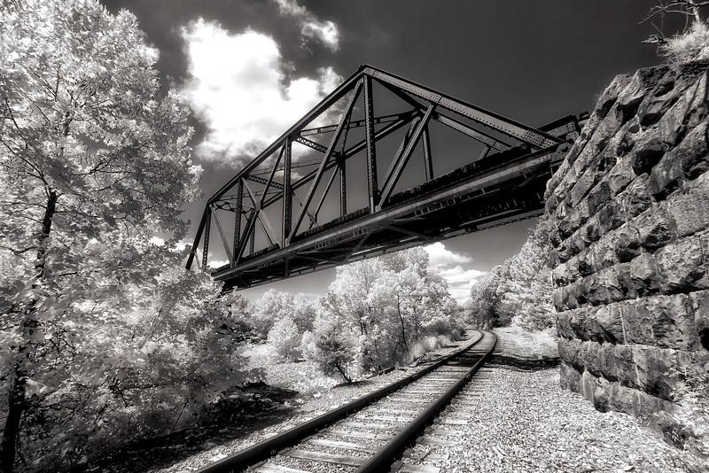 A Journey to Begin - Gulpha Creek Railroad Bridge - Hot Springs, Arkansas