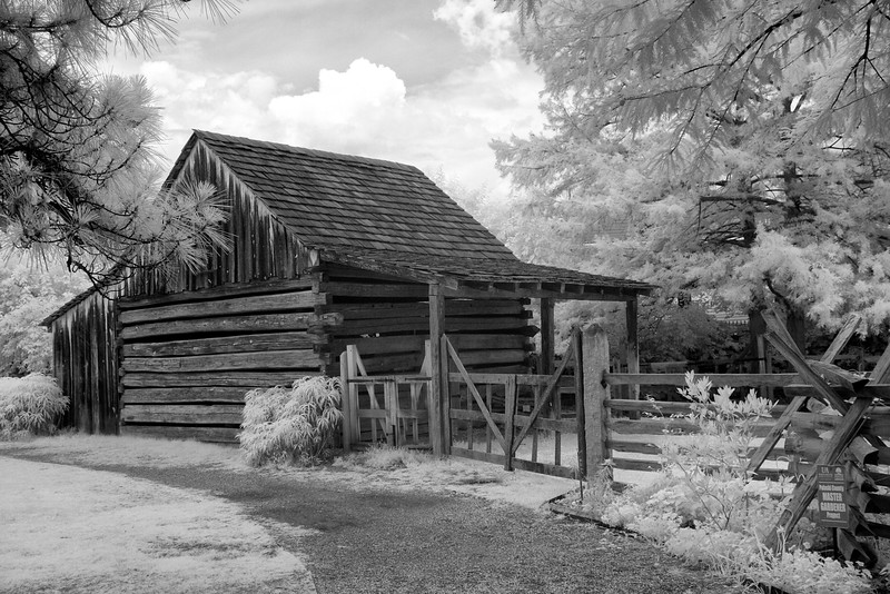 PLUM BAYOU LOG HOUSE - Historic Arkansas Museum - Department of Arkansas Heritage - June 2016