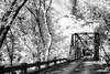 Big Eagle Creek Iron Bridge - Ouachitas of Oklahoma