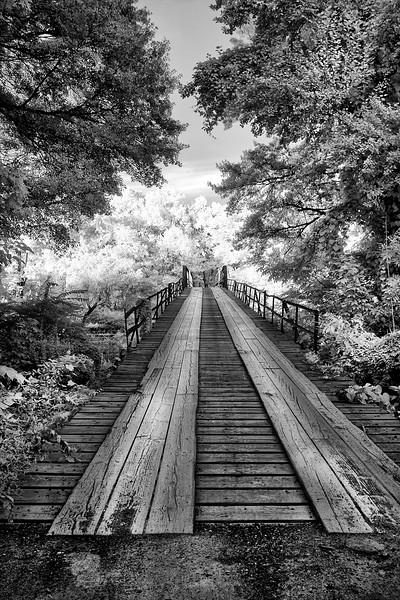 Bridge to the Heavens - Mountain Fork River - Mena,  Arkansas