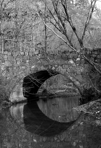 Old CCC Bridge - Shady Lake - Ouachitas