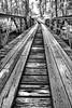 Old  Cherry Hill Bridge - Ouachitas of Arkansas