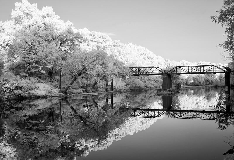 Old Iron Bridge   - Ouachitas of Arkansas - Aug 2014