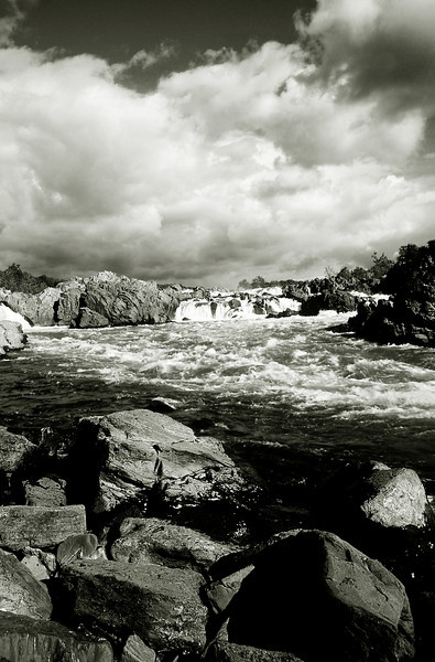 GREAT FALLS 05 B&W
