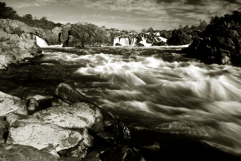 GREAT FALLS 01 B&W