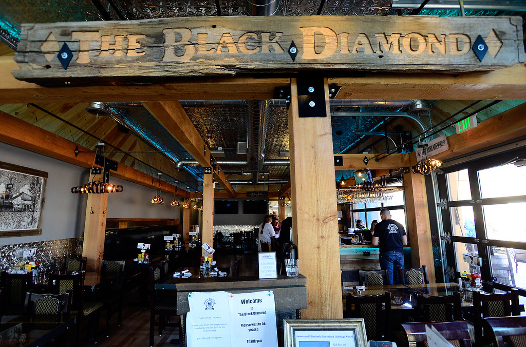 . Interior of the Black Diamond restaurant in Lafayette on Tuesday March 6, 2018. Paul Aiken Staff Photographer March 6 2018