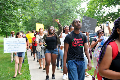 BLACK LIVES MATTER IN  WITH THE #LETS BREATH MOVEM]ENT. IN  LAWNDALE ILLINOIS ON JULY 20, 2016 PHOTOS BY VALERIE GOODLOE