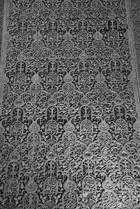 Filigrana en yeso, Alhambra, Granada
