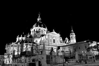 Nocturna de la Catedral de La Almudena, Madrid
