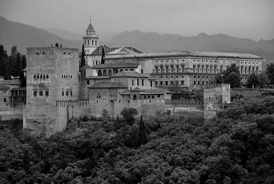 Vista de la Alhambra desde el mirador del Albaicín, Granada
