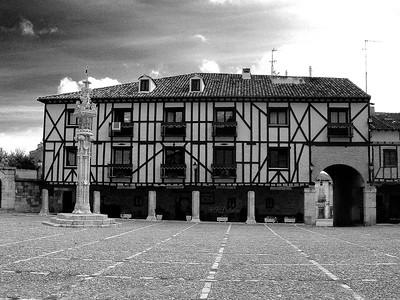 Plaza Mayor, Peñaranda de Duero, Burgos