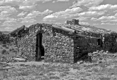 Pioneer's Cabin, Thunder Basin National Grassland, Wyoming