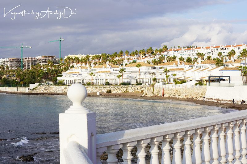 """MIJAS COSTA (where we stayed in an opulent resort and pronounced """"Mihas Costa"""") is a 12 Km coastal stretch of 4 & 5 star resorts, including the popular La Cala de Mijas (Mijas cove) and Sitio de Calahonda (a large residential estate) within the municipal district of Mijas."""