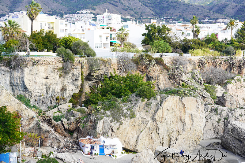 Natural beaches, grottos and caverns architected by Mother Nature in NERJE, which makes this a 'BLANCO PUEBLO' of choice for many Europeans seeking to escape the intense cold of their native countries, in their twilight years!