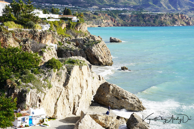 """NERJE (pronounced """"Nerhah"""") is a coastal resort town some 50 kilometres east of MALAGA, and marks the eastern limit of the COSTA DEL SOL (the Sunny Coast of Spain). Once a sleepy fishing village, the town now has a resident population of over 25,000."""