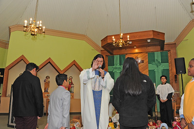 BLESSING OF BABY JESUS AND THE CANDLES- 02/02/19