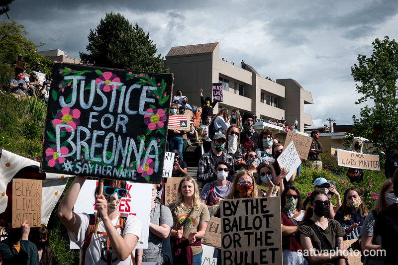BLM Solidarity Rally Bellingham