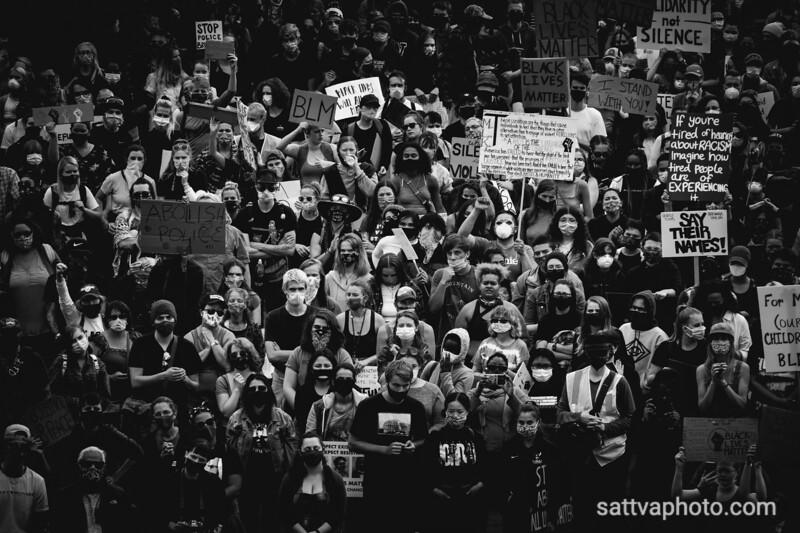 BLM Solidarity Rally Bellingham