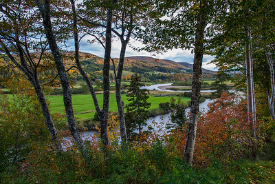 The Margaree River that flows through the Margaree Valley of Cape Brewton Island is noted for it's incomparable autumn beauty and the the peace and tranquility  provided by mother nature.