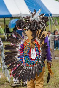 Native dancers at the Alex Michael Memorial Pow Wow in Whycocomagh