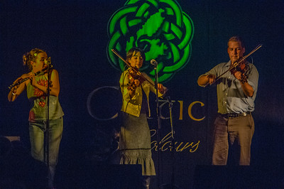 The Irish Eyes concert in Ingonish, part of the annual Celtic Colours Festival on Cape Breton Island
