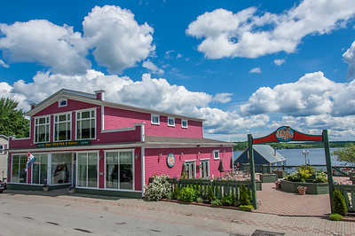 The Rare Bird restaurant in the town of Guysborough