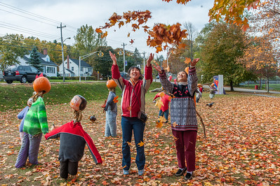 Pumpkin People Festival in the Annapolis Valley town of Kentville