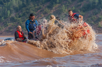 The adventures of Olympic Gold Medal speedskater Yang Yang of China as she is introduced to tidal bore rafting on the Shubenacadie River.