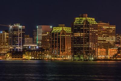 Nighttime Halifax
