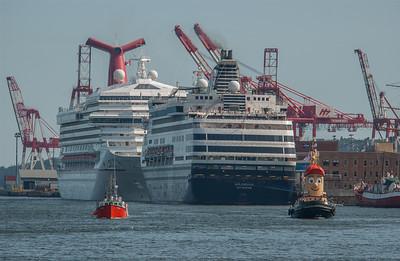 Cruise Ships Visit
