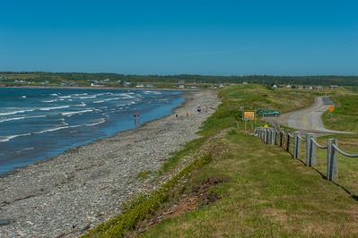 Mavillette Beach Provincial Park in Clare on Nova Scotia's 'French Shore'