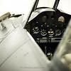 Pristine cockpit of the Wildcat FM-2