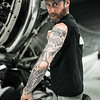 In his flesh...Warbird mechanic Benny Vlaminck