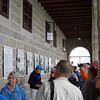 Sun deck, with explanatory signs and photos explaining construction and use of Eagles Nest under Hitler.