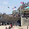 Juno Beach at Arromanche, Normandie where the British entered.