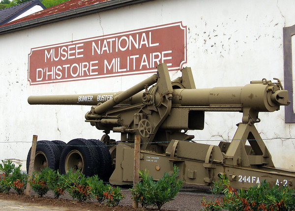 National Museum of Military History in Luxembourg. One of the largest collections of WWII artifacts in the world.