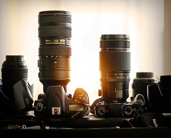 Nikon 70-200mm f/2.8 vs Fujifilm 50-140mm f/2.8 (70-200mm f/4 35mm equivalente) da aboutphotography-tomgrill.blogspot.it
