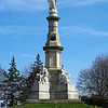 Monument at the site of President Lincoln's Gettysburg Address