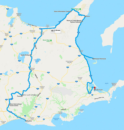japan route