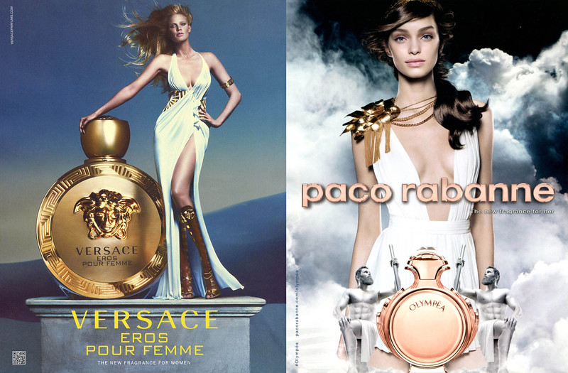 VERSACE Eros pour Femme 2015 Italy 'The new fragrance for women'