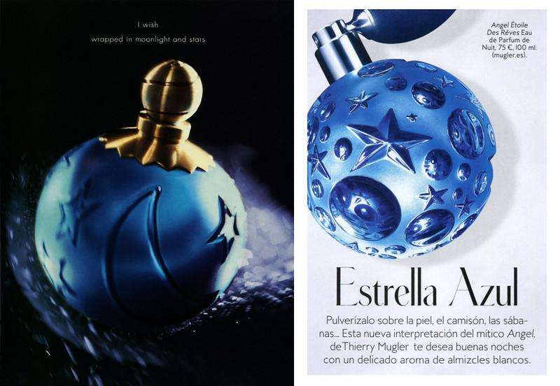 KARL LAGERFELD Sun Moon Stars fragrance (1994) vs MUGLER Angel Étoile des Rêves Eau de Parfum (2016 )